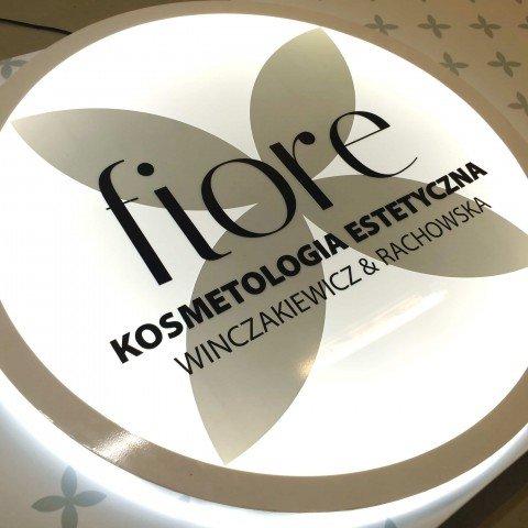 Kaseton podświetlany dla firmy Fiore