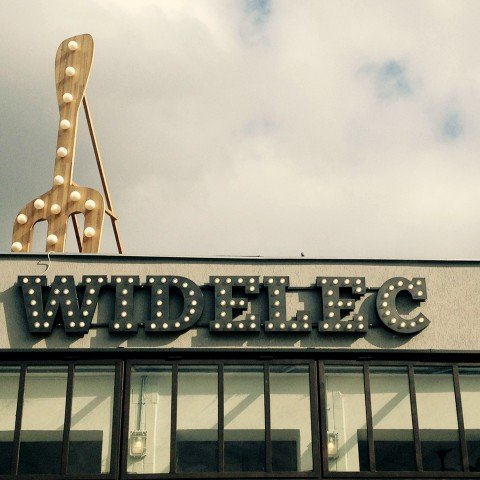 Litery 3D dla firmy Widelec