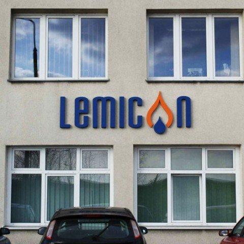Litery 3D dla firmy Lemicon