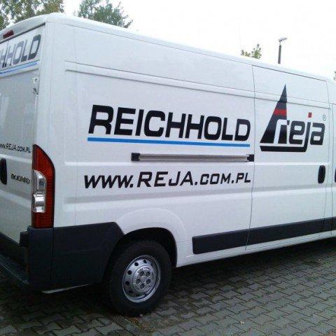 Oklejenie samochodu dla firmy Reichhold